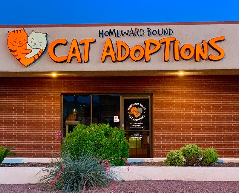 Homeward Bound Cats Adoption Center Exterior